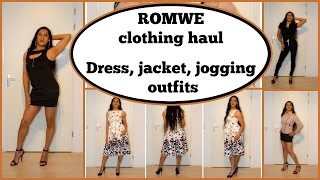 Crossdresser - ROMWE clothes haul #2 - dresses, jacket | NatCrys