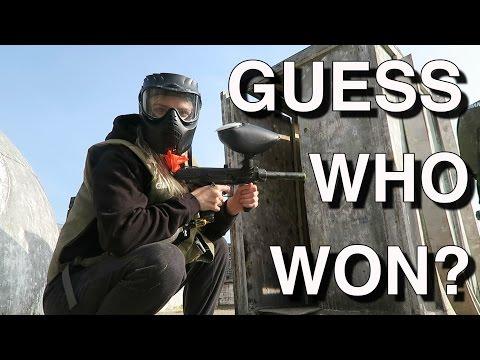WENT PAINTBALLING! - Vlog day 11