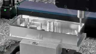 Electronics Housing Machining - DATRON High Speed Milling Machines