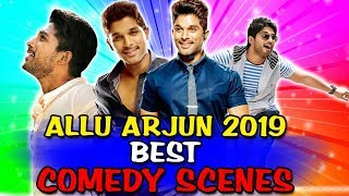 Allu Arjun 2019 Best Comedy Scenes | South Indian Hindi Dubbed Best Comedy Scenes