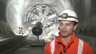 Crossrail tunnelling: TBM Victoria breaks into Liverpool Street station