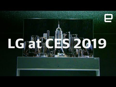 LG press conference at CES 2019 in under 8 minutes
