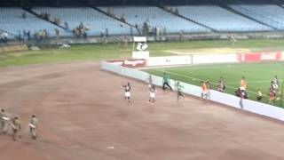 Mohun-Bagan's Winning Celebration After I League Derby (28/3/15)