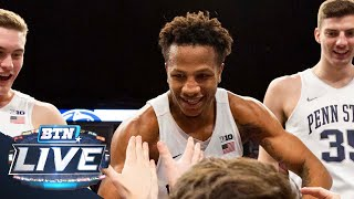Lamar Stevens on Michigan Upset and Showdown with Purdue  | Penn State | Big Ten Basketball