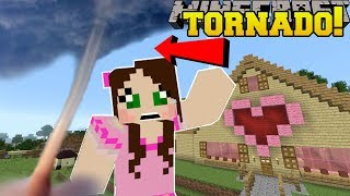 Minecraft: TORNADOES!! (TORNADOES, EARTHQUAKES, & BLIZZARDS!) Custom Command