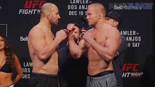 UFC on FOX 26 ceremonial weigh-in highlight
