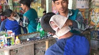 Bihar Head Massage by Ravindar (Neck Crack) | Episode 9 | ASMR