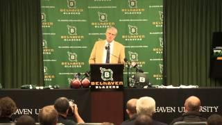 Belhaven University - Hal Mumme Press Conference (1.21.14)