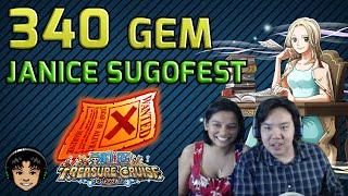 340 Gem Global Sugofest - Featuring Janice! [One Piece Treasure Cruise]