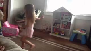 Adaln in her own ballet world