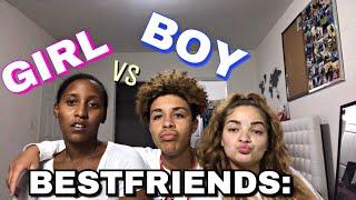 GIRL VS BOY BESTFRIEND