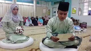 Pernikahan Taufiq & Nursyafiqah 17 Nov 2017 (lafaz Takliq)
