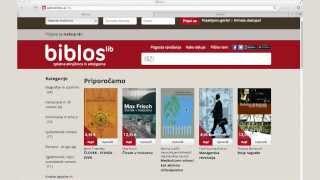 Pozdravljeni v prvi slovenski eKnjižnici in eKnjigarni Biblos