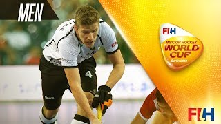 Germany v Iran - Indoor Hockey World Cup - Men