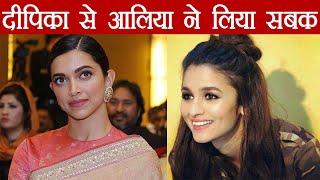 Alia Bhatt will not HIKE her FEES because of Deepika Padukone; Here