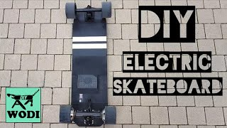 DIY ELECTRIC SKATEBOARD with no visible electronics / Tutorial part 1
