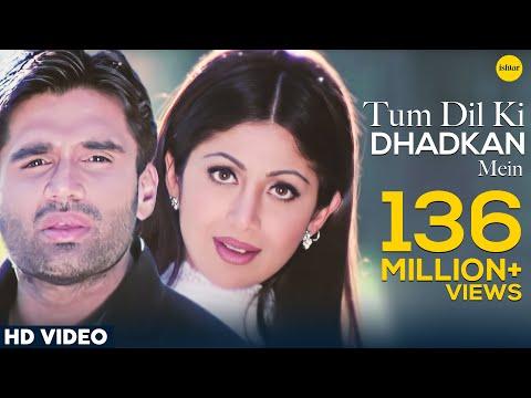 Tum Dil Ki Dhadkan Mein -HD VIDEO | Suniel Shetty & Shilpa Shetty |Dhadkan| Hindi Romantic Love Song