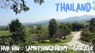 JESS' THAILAND TRAVEL DIARY | Bangkok . Samut Songkhram . Hua Hin