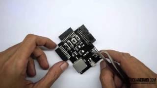 Tutorial Penggunaan Soket eMMC & Adapter Panda
