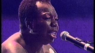 Nina Simone, My Baby Just Cares For Me, live for the Music Of The Millennium show