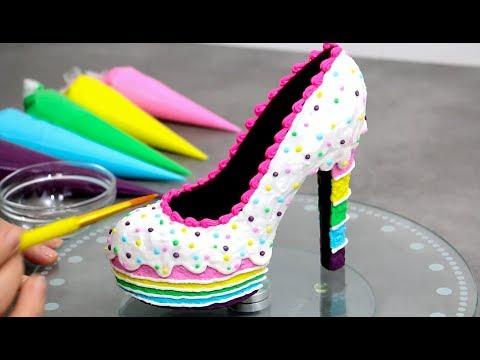 Xxx Mp4 Amazing Rainbow Cake Chocolate Shoe The YUMMIEST SHOE You Can EAT 3gp Sex