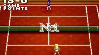 Namco Tennis Smash Court  ~ PS1 PlayStation