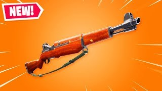 The New INFANTRY RIFLE in Fortnite..