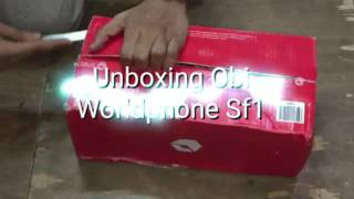 Obi Worldphone Sf1 16GB unboxing