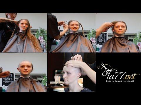 Xxx Mp4 TA77 Net Video Trailer Alisha LV 2017 Long Blonde Hair To Completely Bald 3gp Sex