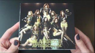 Unboxing After School 1st Japanese Studio Album Playgirlz [CD+DVD Edition]