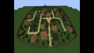 [Minecraft] Village d'asterix et camp romain