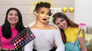 THE FUNNIEST VIDEO YOU'll SEE TODAY!😂   I GOT MY MAKEUP DONE S#!%🤢 ft. Ashi Khanna ,Gujju Unicorn