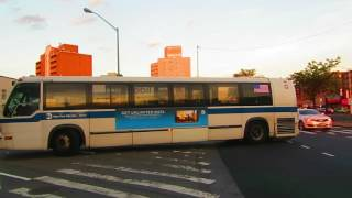 MTA Bus: NIS RTS-06 8969 at 63 Rd/Queens Blvd