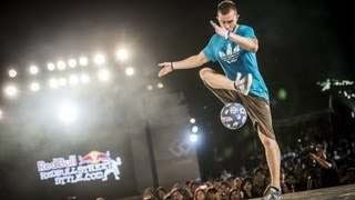 Freestyle football juggling in Japan - Red Bull Street Style 2013