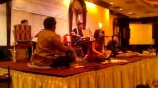 Romail Bhatti on tabla  with naila mugal
