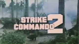 Strike Commando 2 (1988) Brent Huff KillCount
