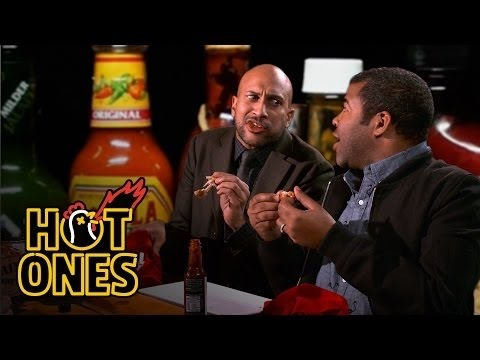 Xxx Mp4 Key Peele Lose Their Minds Eating Spicy Wings Hot Ones 3gp Sex