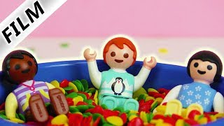 Playmobil Film deutsch | EMMA IN SPIEL GRUPPE - Mag sie die anderen Kinder? | Familie Vogel