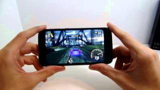 Doogee Valencia 2 Y100 Pro   Játék teszt Need for Speed No Limits, Real Racing 3