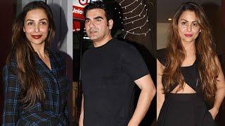 Arbaaz Khan Malaika Arora & Amrita Spotted at Royale China For Karva Chauth Dinner