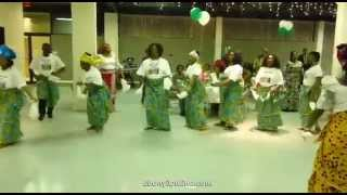 Afikpo Women Perform Traditional Dance at New Yam Festival in USA