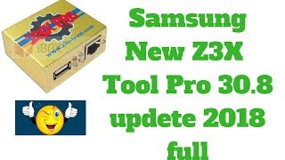 Samsung New Z3X  Samsung Tool Pro 30.8 Full  ...