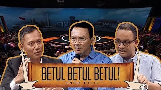 BETUL BETUL BETUL - 3 Cagub Jakarta Nyanyi!