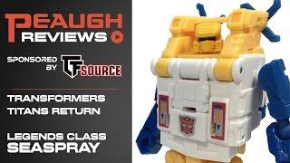 Video Review: Transformers: Titans Return - Legends SEASPRAY