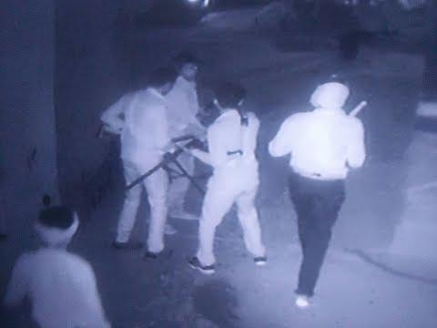 सीसीटीवी की मदद से पकड़े दहशत फैलाने वाले अपराधी।