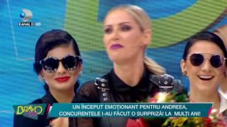 Bravo, ai stil! (21.06.) - Andreea Banica, super-emotionata! Ce surpriza i-au facut concurentele!