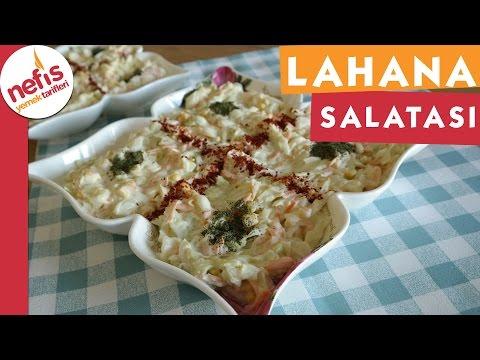 Lahana Salatası - Salata Tarifi - Nefis Yemek Tarifleri