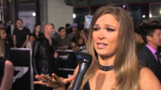 Ronda Rousey Furious 7 Premiere Interview - Fast & Furious 7