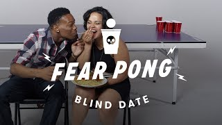Blind Dates Play Fear Pong - Lance vs. Ella