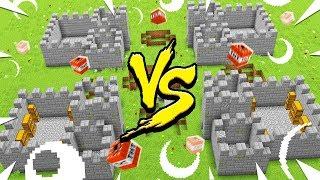 Making a VANILLA Minecraft server for WAR! - Minecraft at WAR #1